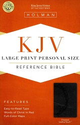 KJV Large Print Personal Size Reference Bible