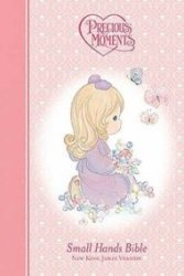 NKJV Precious Moments Small Hands Bible (girl)