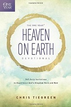 The One Year Heaven on Earth devotional