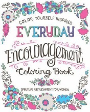 Every day encouragement Colouring Book