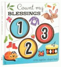Count my Blessings Fit together shapes book