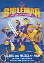 Bibleman Animated Adventures melting the Master of Mean DVD