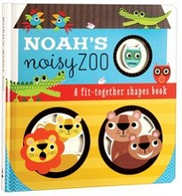 Noah's Noisy Zoo fit-together shapes book